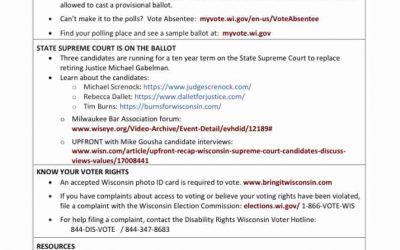 Are you disabled? Here is voting help.