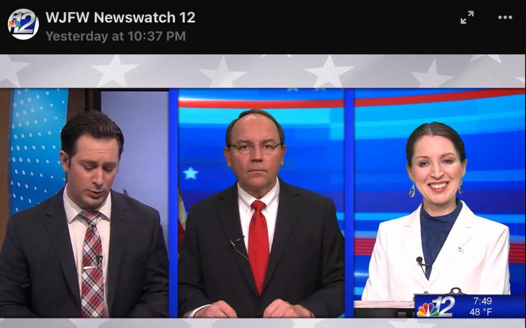 Tricia Zunker/Tom Tiffany 5/1 Debate
