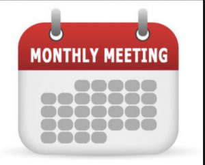 May 2021 Monthly Membership Meeting