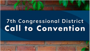 7th Congressional District Democratic Party Convention via Zoom
